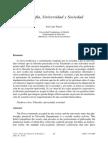Filosofía, Universidad y Sociedad (José Luis Pardo)