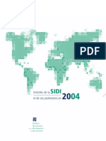 Rapport d'activités 2004