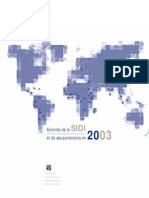 Rapport d'activité 2003