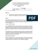 Lab 03 - Measurement of VSWR - Signed
