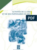 Rapport d'activités 2002