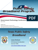 Texas Public Safety Broadband Network - Lesia Dickson