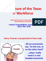 The Future of Texas IT Workforce - Richard Froeschle