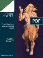 Lindividualisme Economique Et Social Albert Schatz
