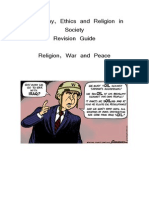 Religion War and Peace Revision Pack