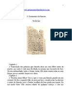 Evangelhos Apócrifos - O Testamento de Simeão.doc