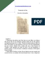 Evangelhos Apócrifos - Testamento de Dan.doc
