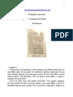 Evangelhos Apócrifos - Testamento de Rubén.doc