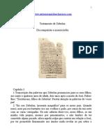 Evangelhos Apócrifos - Testamento de Zebulon.doc
