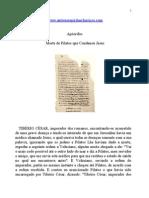 Apócrifos - Morte de Pilatos que Condenou Jesus.doc