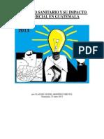 Registro Sanitario y su Impacto Comercial en Guatemala por Claudio Leonel Ordóñez Urrutia