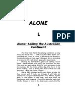 ALONE - Sailing the Australian Continent.doc