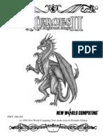Heroes of MIght & Magic 2_Manual_FR