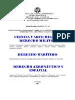 Ciencia y Arte Militar Derecho Militar
