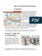 daily life in roman empire text