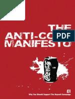 anti coce manifesto