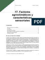 17. Factores agroclimáticos y características sensoriales