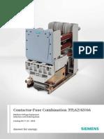 Siemens Contactor_Fuse Combination