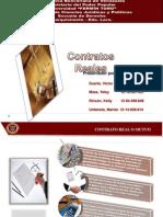 Contratos Reales en el Derecho Romano