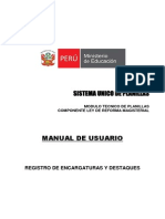 Manual de Encargaturas