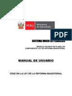 Manual de Cese de La LRM