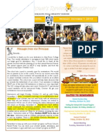 ARCP Newsletter - Week 8