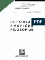 Herbert Snajder - Istorija Americke Filosofije