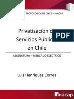 Privatizacion en Chile Revision