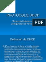 PRESENTACION PROTOCOLO DHCP -
