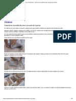 Cerámica Tres Piedras » Cómo hacer un molde de yeso o escayola de 2 partes