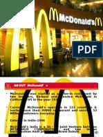 mcdonalds gap analysis