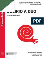 Delirio a Duo