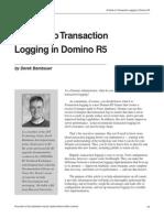 Guide to Transaction Logging
