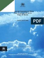 Manual del convenio de viena para la protocolización de la capa de ozono