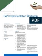 SAN Implementation Workshop