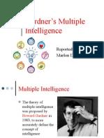 Gardner's Multiple Intelligence