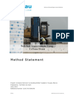 Method Statement PVD (Wick Drain)