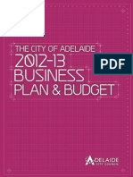 2012 2013 Business Plan and Budget