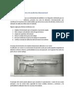 Tipos de instrumentos de medición dimensiona1