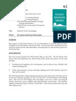 Item 4.2 - El Camino Real Precise Plan Update 10-15-2013