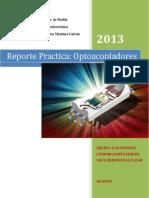 Practica Reporte Optoacopladores
