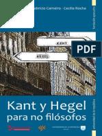Gioscia, Carneiro y Rocha,Kant y Hegel para no filósofos