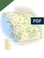 San Die Go Map