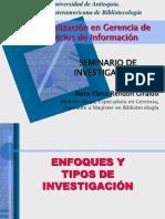 Tipos de Investigacion .