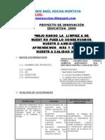 MODELO DE PROYECTO DE INNOVACIÓN EDUCATIVA-RYTB