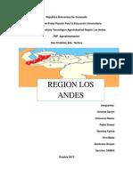Región  Los Andes