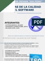 Medidion de La Calidad de Software