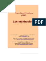 Proudhon_ Les Malthusiens