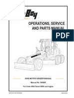 Operation and Maintenance Manual Motor Grader CAT 16M