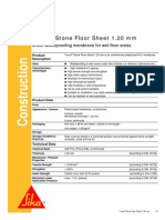Trocal Stone Floor Sheet 1.2